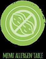 allergen table icon